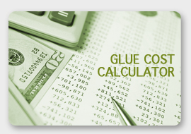 glue cost calculator