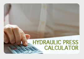 hydraulic press calculator