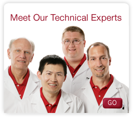 meet our technical experts